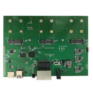 WiFi Router MT7621 Board 2 Giga Ethernets 3 mini PCIe AP7621-001