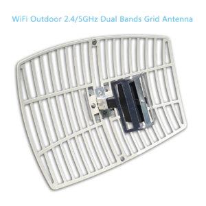 WiFi Dual Bands Parabolic Grid Antennas AG-2450-15D