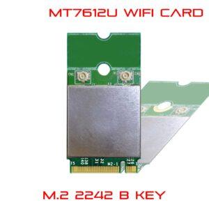 WiFi M.2 B key module 2242 2230 MT7612U 11ac 2x2 867 Mbps M27612-BU3