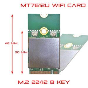 WiFi M.2 B key module 2242 2230 11ac 2x2 867 Mbps M27612-BU3