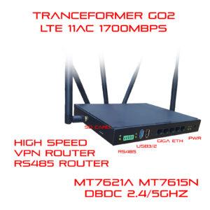 5G (LTE) DBDC RS232 RS485 WiFi Router by MT7621A and MT7615N Transformer Go2-1