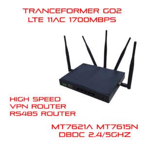 5G (LTE) DBDC RS232 RS485 WiFi Router by MT7621A and MT7615N Transformer Go2