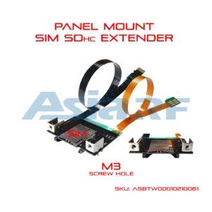 panel wall mount sim extender sd extender
