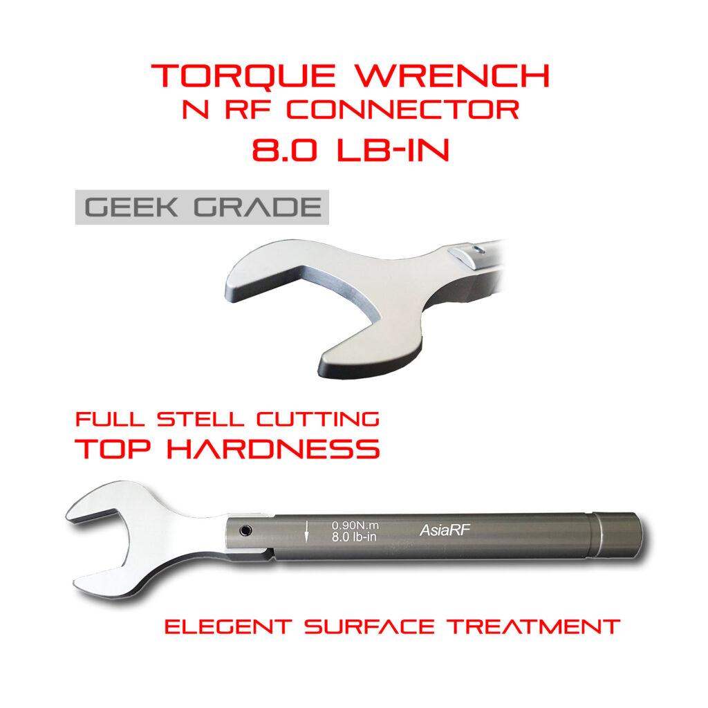 Torque Wrench N 7.0mm RF connector lab grade geek's tool